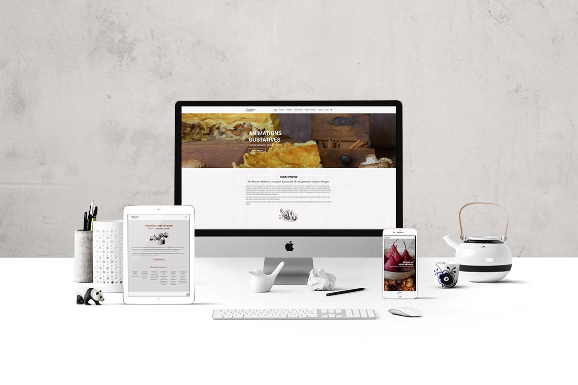 Site internet cours de cuisine autograff graphiste - Cours de cuisine toulouse ...