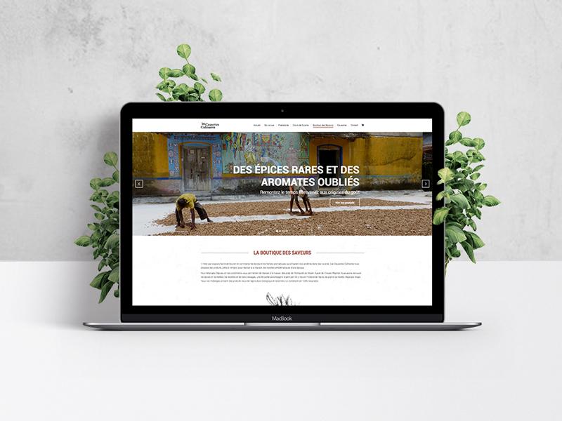 site-internet-cours-cuisine-historique-boutique-epices-les-causeries-culinaires-autograff-graphiste-freelance-toulouse-e-shop-boutique