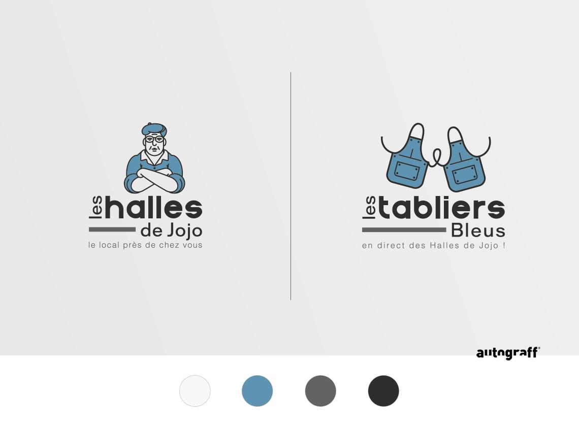 logo-marche-local-brasserie-traditionnelle-bleu-autograff-graphiste-freelnace-toulouse-2018