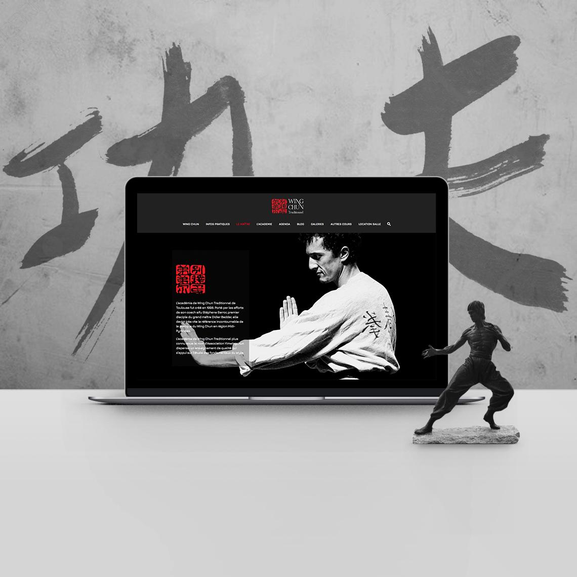 site internet école kung fu
