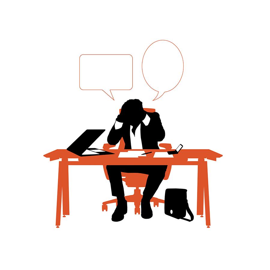 illustration-businessman-banque-images-stress-orange-noir-autograff-graphiste-freelance-toulouse