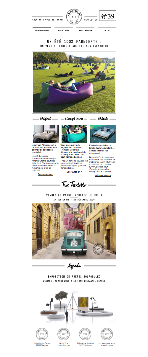 newsletter-template-email-design-retro-trentotto-mobilier-italien-autograff-graphiste-freelance-toulouse
