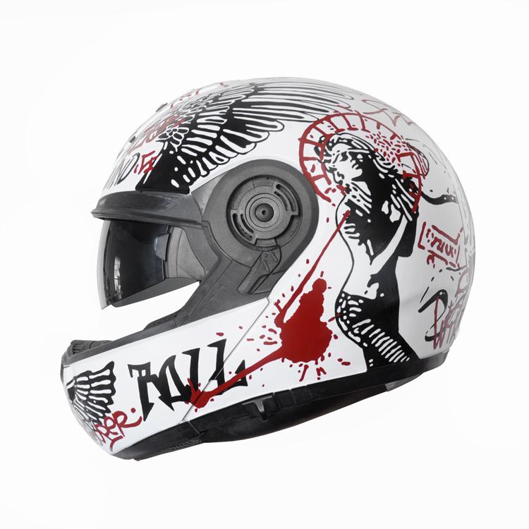 casque-moto-street-art-noir-blanc-rouge-design-objets-autograff-graphiste-freelance-toulouse-2014-featured