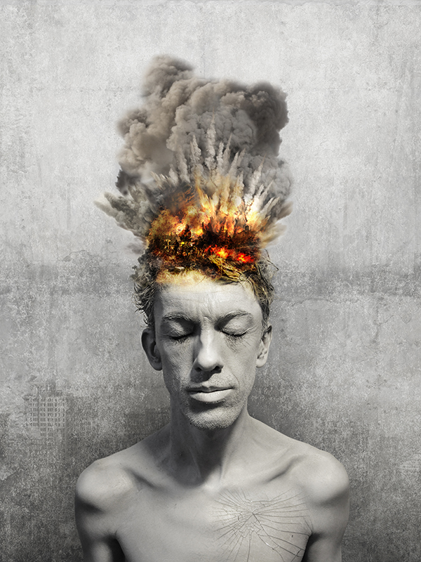 visuel-photoshop_homme-en-explosion_in-my-head-project_autograff-graphiste-freelance-toulouse_2015