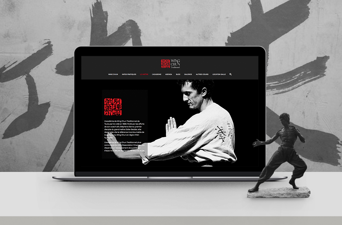 website-design-ecole-arts-martiaux-kung-fu-wing-chun-autograff-graphiste-freelance-toulouse