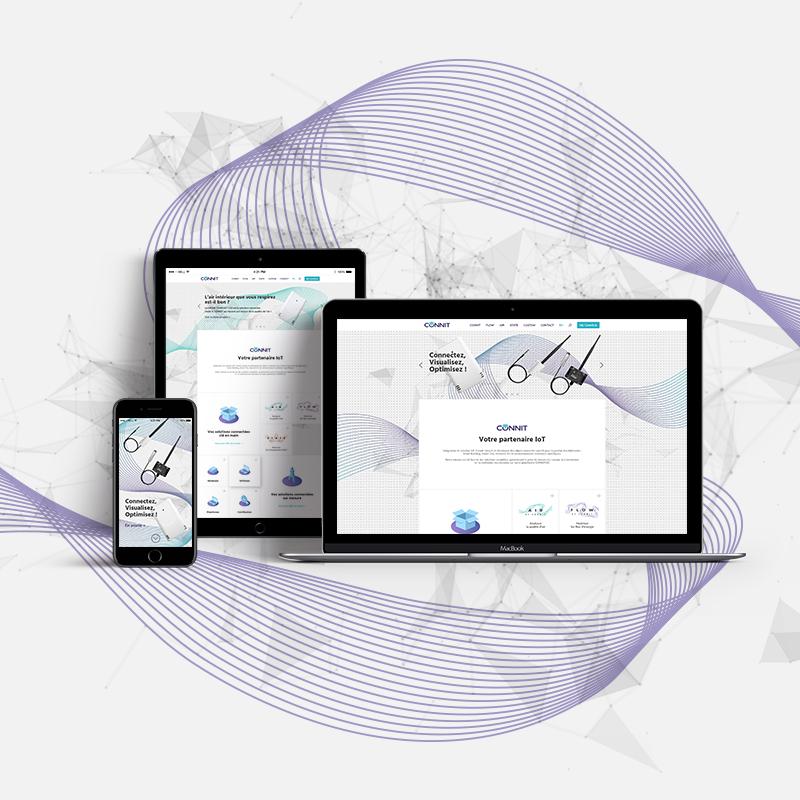 site internet start-up IoT